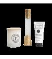 Pack sofisticado: Perfume + Vela aromática + crema de manos